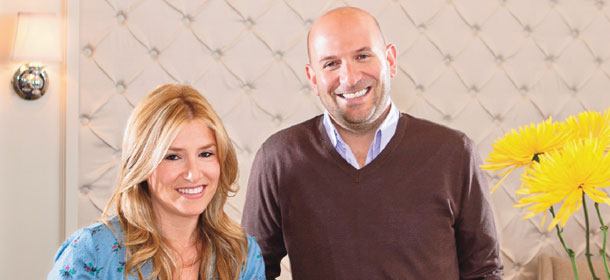 Alli Webb and Michael Landau are Drybar co-founders