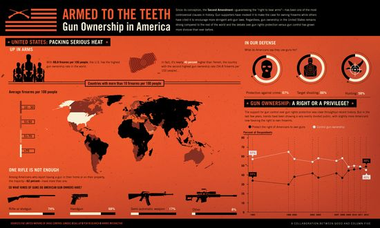 Armed To The Teeth -- Gun Ownership in America