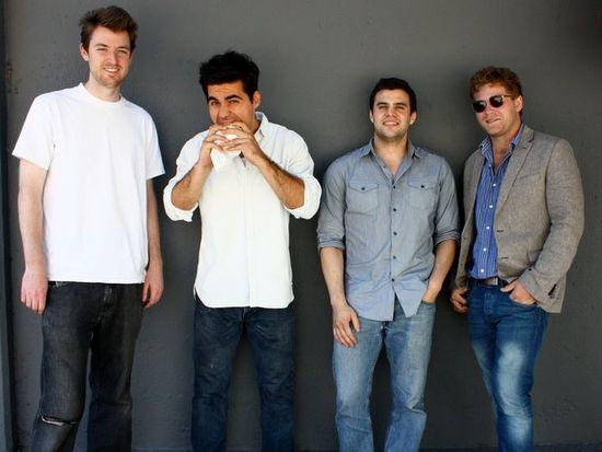Momentum Machines management team (left-to-right) is Jack McDonald, Alex Vardostas, Steven Frehn and Ari Atkins