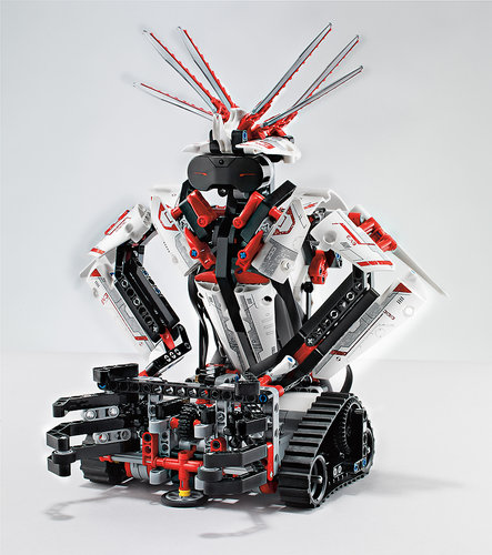 Lego Mindstorms EV3 are the latest edition of Lego's programmable robots incorporating new sensors, and an app for controlling the robots by waving around your iOS or Android device