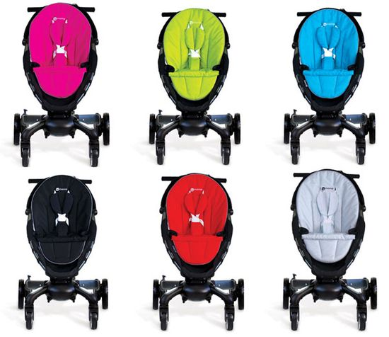 4Moms Origami stroller's come in five different colors