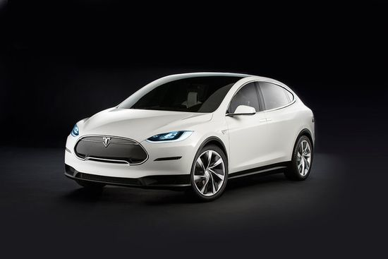 Tesla's Model X is the company's first crossover
