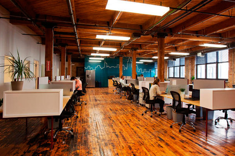 Chicago's Onward Coworking space, in the West Loop