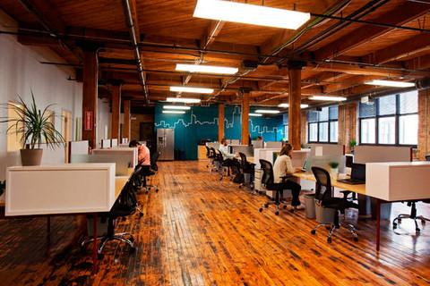 Chicago's Onward Coworking space, in the West Loop