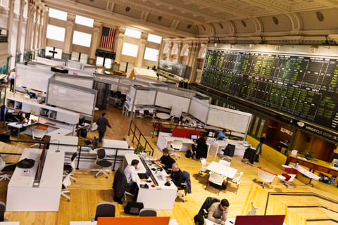 The 20,000-square foot CoCo in Minneapolis-St. Paul operates out of the historic trading floor of the Minneapolis Grain Exchange