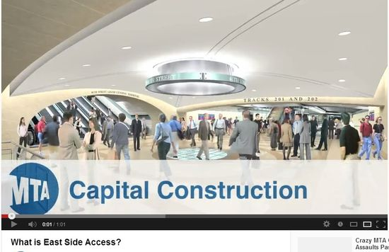 What is the MTA EastSide Access Project