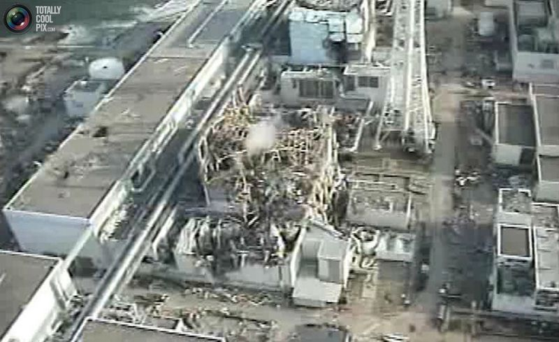 Tokyo Electric Power (TEPCO) Co.'s crippled Fukushima Daiichi Nuclear Power Plant No. 3 reactor in Fukushima prefecture, northern Japan is seen in this still image taken from a video shot by an unmanned helicopter on April 10, 2011