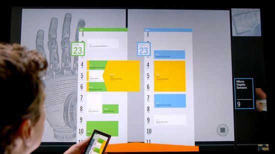 And then they put the exact same interface that was on a Windows phone onto a giant display. The content isn't richer or more meaningful. You just won't need glasses