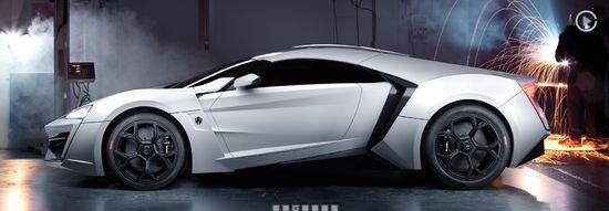 W Motors' LykanHypersport C