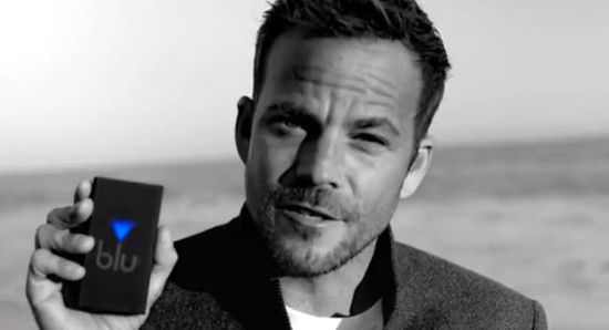 Blu eCigs spokesman Stephen Dorff