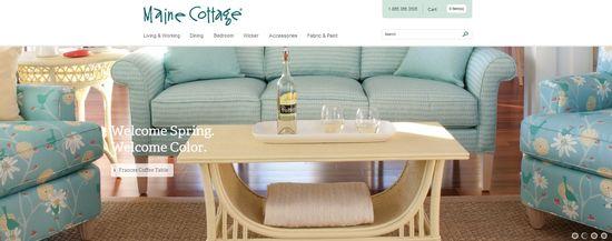 Maine Cottage homepage