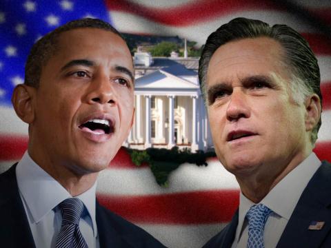 U.S. Presidential Race - President Obama versus Governor Willard Mitt Romney