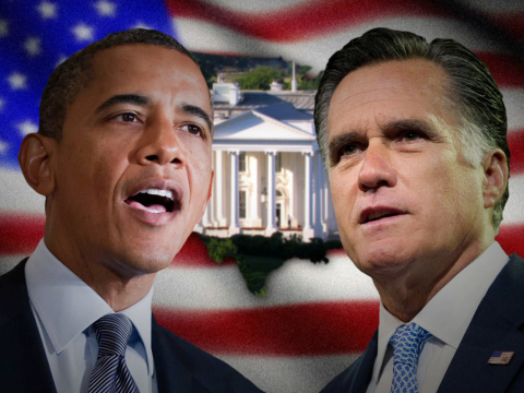 U.S. Presidential Race - President Obama versus Governor Willard Mitt Romney