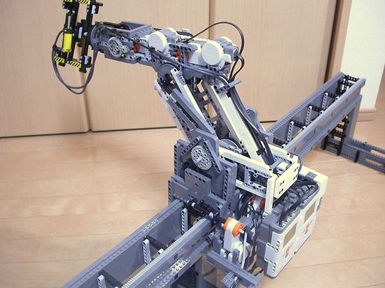 Lego Great Ball contraption is pretty remarkable, for a repurposed toy