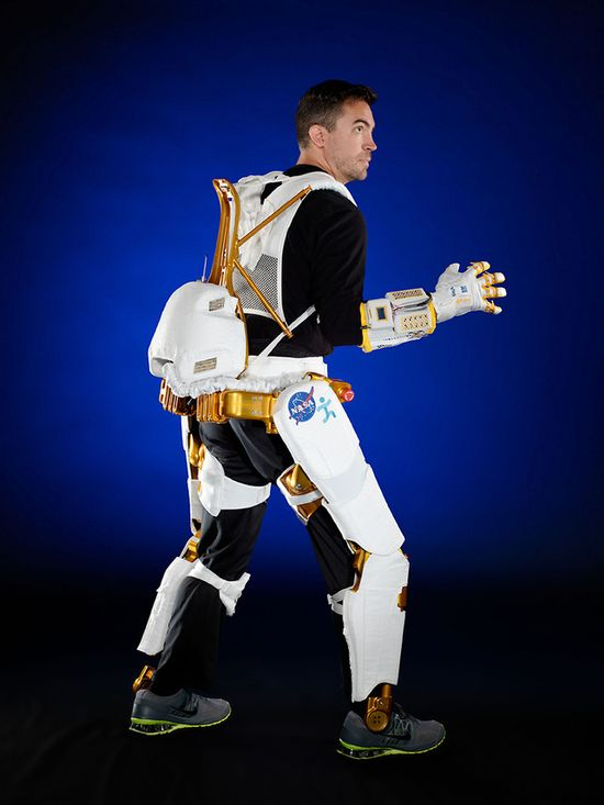 NASA's X1 Robotic Exoskeleton
