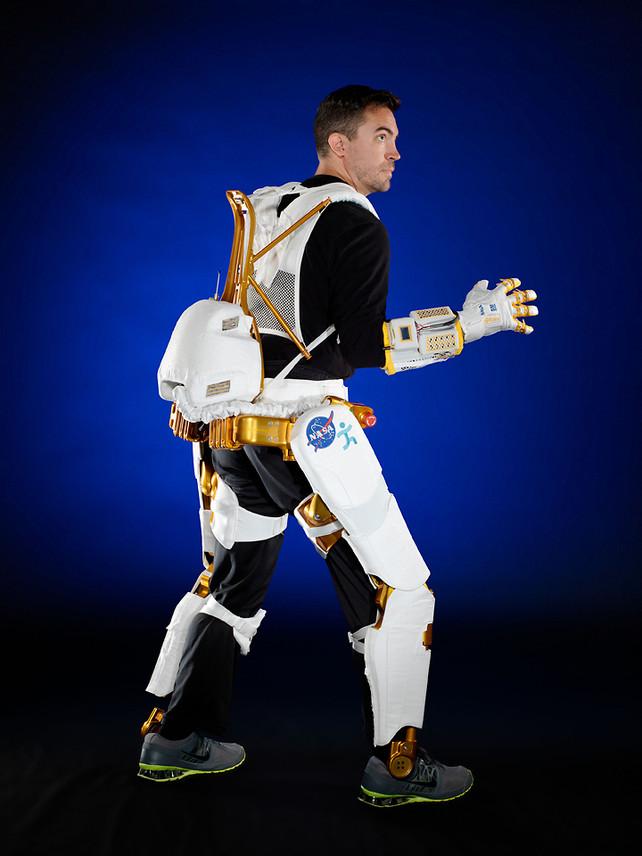 NASA's X1 Robotic Exoskeleton