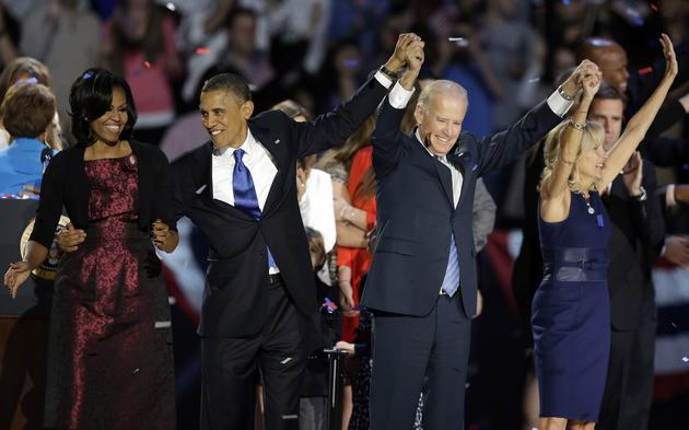 President Obama wins relection