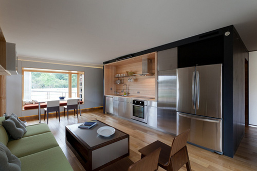 Solar Homestead by Delte Homes (Living-kitchen room)