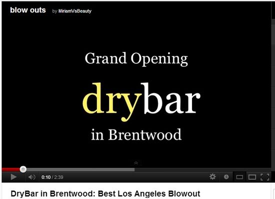 Grand Opening drybar in Brentwood