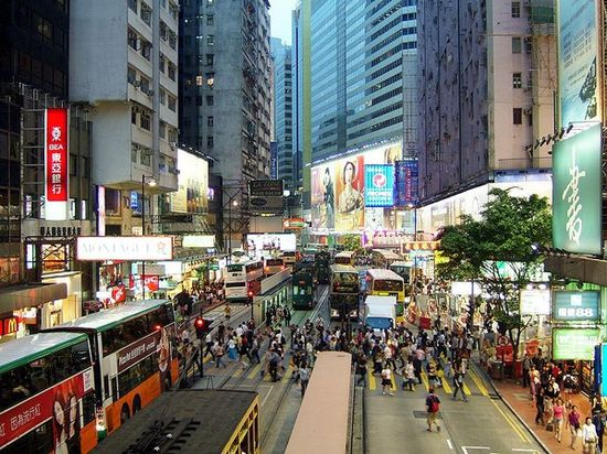 Hong Kong's world famous Causeway Bay is now the most expensive place to rent for retailers
