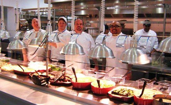 Facebook Culinary Team Tony Castellucci, Chris Moss, Josef L. Desimone, and Virgil HIdalgo