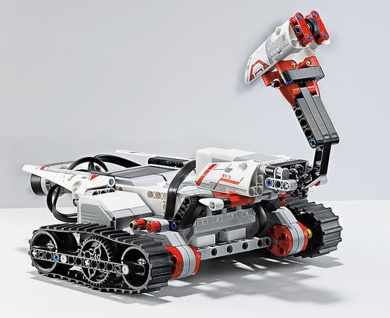 Lego Mindstorm EV3 iincludes a rover. partly the creative vision of Lego, partly the results of studying how kids interact with robotic toys