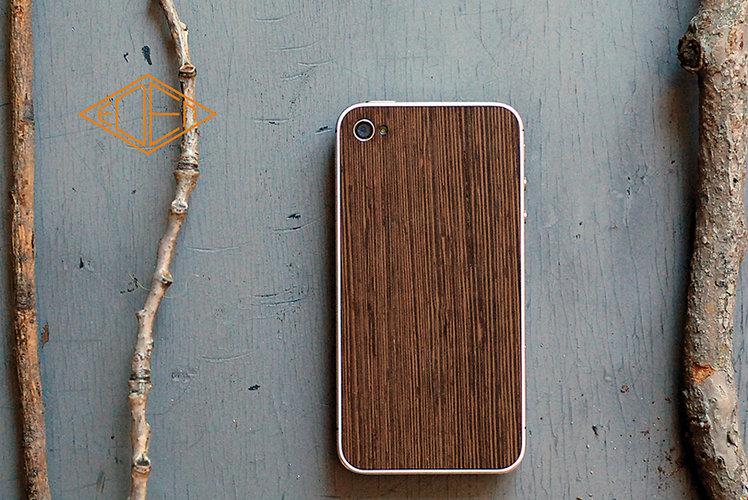 The rest of the identity was rounded out by the designers' decision to use real quality woods