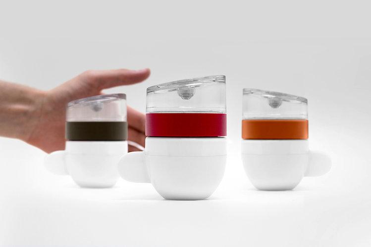 The Piamo is a charming, microwave espresso maker