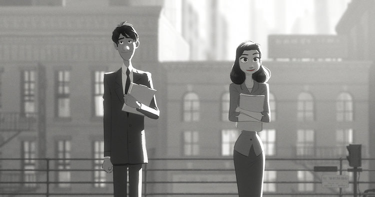 Paperman is an Oscar-winning short, directed by John Kahrs