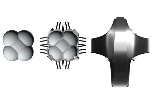3D concept illustration of NASA JPL's first lunar base 5