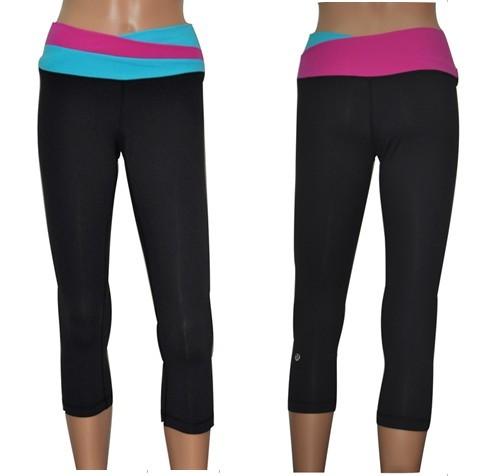 Lululemn black yoga pants