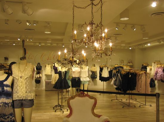 Forever 21's grand opening on June 25, 2010 at their new store located in Times Square, New York City B