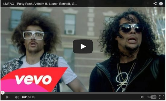 LMFAO - Party Rock Anthem ft. Lauren bennett, G.