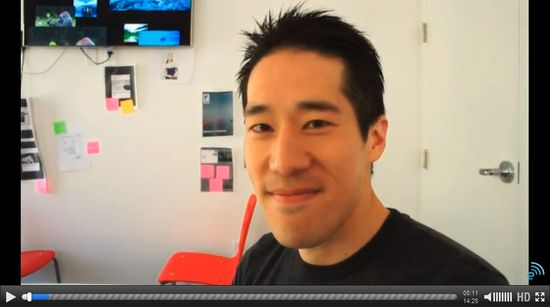 Flipboard's Eric Feng demonstrates the new features of the Flipboard 2.0 app for the iPad (CLICK TO VIEW VIDEO)