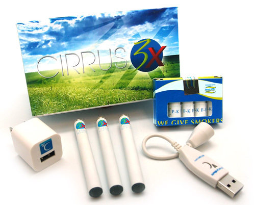 White Cloud Cirpus 3X electronic cigarettes