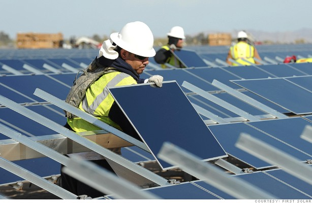 PV solar panel installers made out during Q1 2013, raising $75 million in venture capital