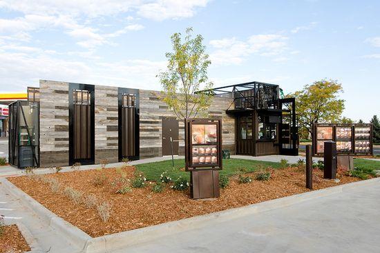 Starbucks new small, portable and hyper-local store in Denver, Colorado 5