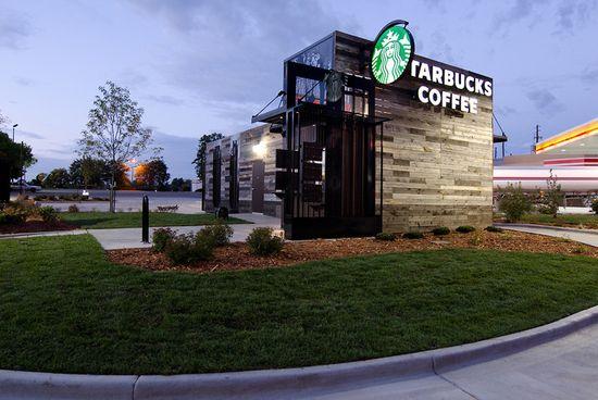 Starbucks new small, portable and hyper-local store in Denver, Colorado 2