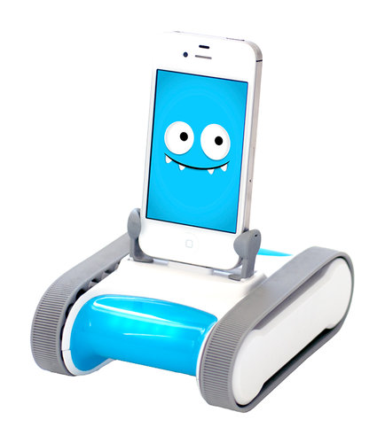 Romo is a robotic body and a software personality for your iPhone