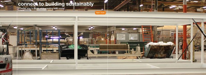 Inside Connect Homes' manufacturing facility in Los Angeles, CA