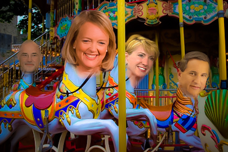 HP CEO Merry-Go-Round in the last six years includes Leo Apotheker, Meg Whitman (Current CEO), Carly Fiorina and Mark Hurd