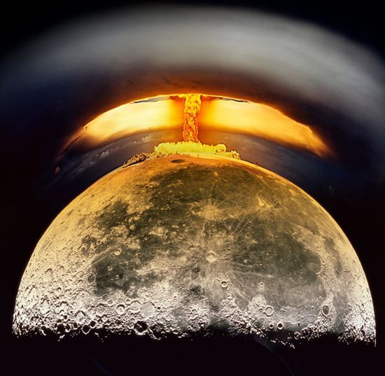 America's Plan To Nuke The Moon