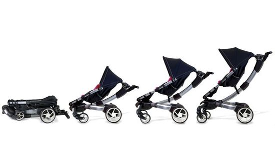 4Moms Origami stroller folds automatically