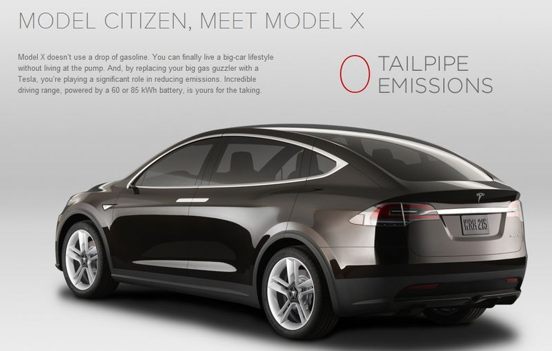 The Tesla Model X is an all-electric vehicle so you no longer a slave to the gas pump