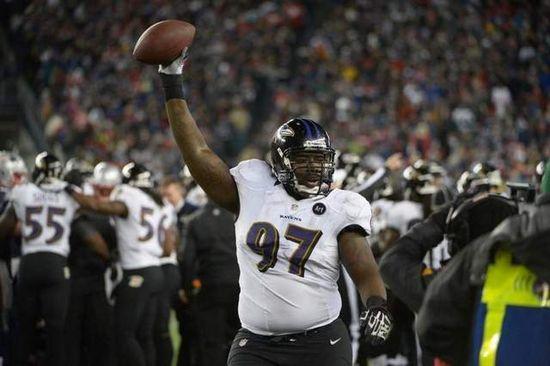 Baltimore Ravens DT Arthur Jones
