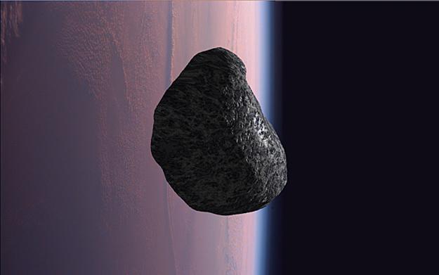 NASA artist concept of asteroid 2012 DA14