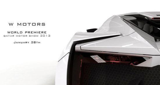 W Motors $3.4 million Lykan Hypersport 1