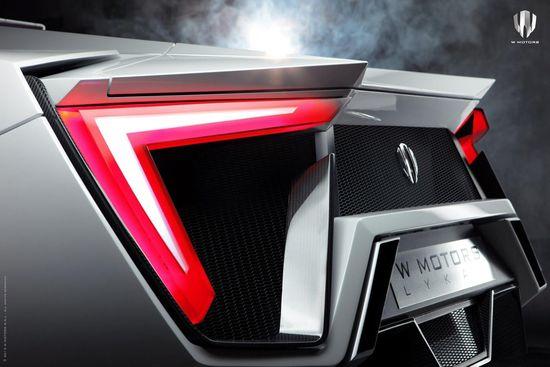 W Motors' LykanHypersport H