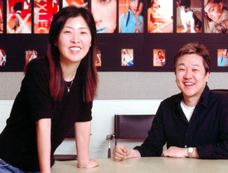 Don Chang (right) and wife Jin Sook Chang (left) opened the first Forever 21 in 1984