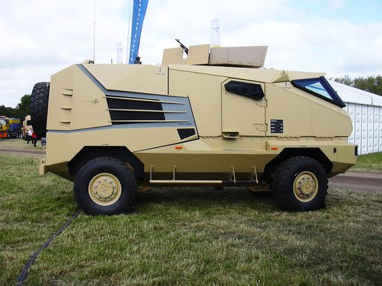 Lockheed Martin AVA with Plasan-made armor